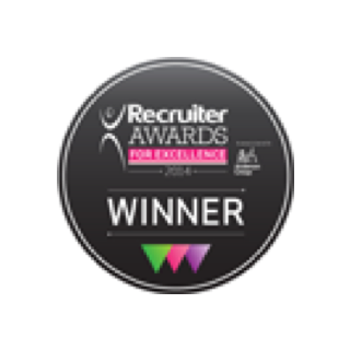 Awarded Recruitment Technology Innovation of the Year Award at Recruiter Awards